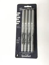 Elegant Writer Black Calligraphy Marker Set - Black Set