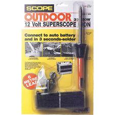 HIB 12V DC Battery Soldering Iron Clip To Car/ Sla Battery Scope Wattage: 30W ~