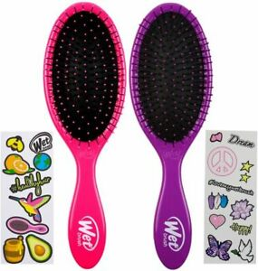 Wet Brush Detangler Health And Peace Pink/Purple
