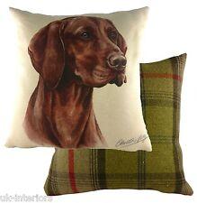 """17"""" Hungarian Vizsla Dog Cushion Evans Lichfield DPA210 43cm Waggydogz"""
