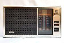 Vintage GE General Electric AM/FM Radio Walnut Grain Finish 120 Volts 7-4115B