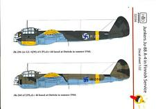 Hungarian Aero Decals 1/32 JUNKERS Ju-88A-4 Finnish Air Force Service