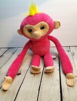 WowWee Fingerlings Hugs Bella Pink Baby Monkey Advanced Interactive Plush