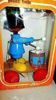 Vintage Wood Toy jouet bois Vilac In Original Box