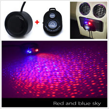 Car Ceiling Starry Sky Light LED Atmosphere Projector Armrestbox +Remote Control
