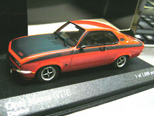 OPEL Manta A Coupe GT/E SPORT ROSSO RED BLACK 1974 1:43 Minichamps PMA RAR