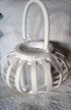Windlicht Shabby Chic Landhausstil Vintage Teelichthalter