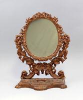 99833080 Ferro Tisch-Spiegel Storicismo circa 1900 Color Bronzo