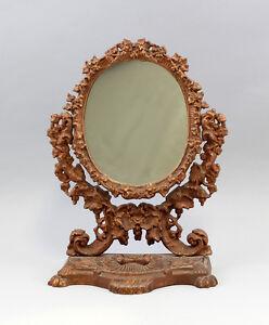 99833080 Hierro Tisch-Spiegel Historicismo Um 1900 Bronce