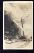 Canada Man WINNIPEG Theatre fire 1926 RP PPC