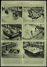 British Army Amphibious Transport First Gas-Turbine Tank 1954 Page Article