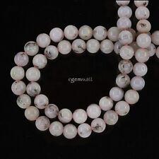 "15.8"" Pink Peruvian Opal Round Beads ap. 6mm #76192"