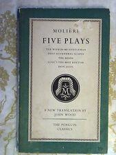 Penguin Classics L36 Moliere Five Plays 1953 The Miser Don Juan Scoundrel Scapin
