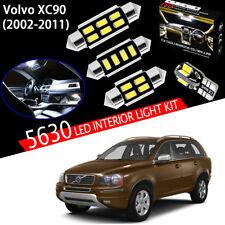 18Bulbs Super For Volvo XC90 2002-2011 White 5630 LED Interior Light Kit Package