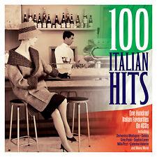100 ITALIAN HITS (Various Artists) BOXSET 4CD