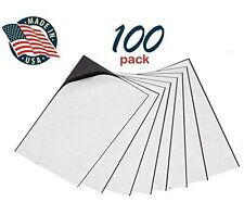 """Self Adhesive Peel & Stick Promotional Business Card Magnets Pack of 100 2 x 3½"""""""