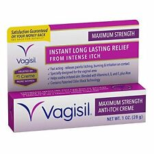 Vagisil Maximum Strength Anti-Itch Creme 1 oz Each