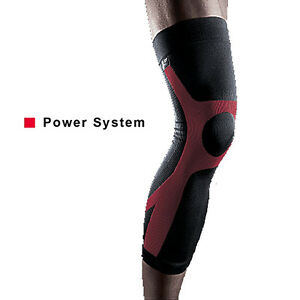 LP 272 Power Knee Support Brace Compression Calf Thigh Running Heat Strap Sleeve