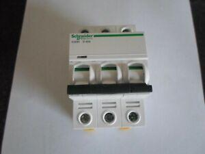 SCHNEIDER ELECTRIC ACTI 9 IC60H D40A 40 AMP (A9F55340) 10KA TRIPLE POLE MCB