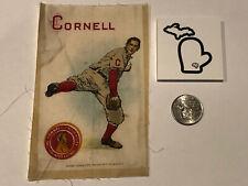 1910 Medium 3.5 x 5.5 S22 Murad Tobacco Silk Cornell University Pitcher