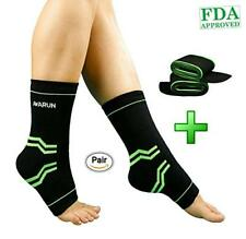 44c587c958 Compression Sleeve Ankle Brace Support Adjustable Achilles Tendon Pain  Relief