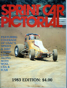SPRINT CAR PICTORIAL 1983 USAC SPRINT CARS SILVER CROWN AUTO RACING MINT!