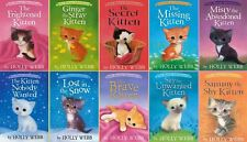 Pet Rescue Kittens Series Collection Set Books 1-10 Paperback Holly Webb New