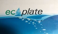 """Polyester plates / Laser Plates 8.625"""" x 15""""  Eco plate"""