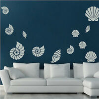 Shower Bubbles Wall Decal Bubble Art Wallpaper Ocean Fishes Removable Vinyl g24