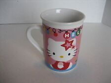 Sanrio Hello Kitty Christmas Ceramic Coffee Mug/Cup 4 in.T. x 3 in.W. New