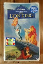 The Lion King FIRST TIME ON VIDEO!(VHS, 1995)~Rare Factory Sealed!