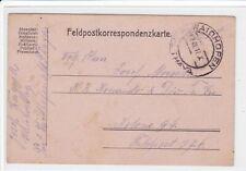 Feldpostkarte   K u. K Feldpost, Feldpostkorrespondenzkarte,  Waidhofen 1917