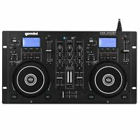 Gemini CDM-4000BT 2-Chan Dual CD/MP3/USB DJ Media Player Controller/Mixer System