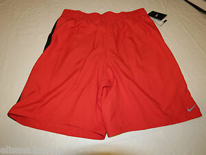 Men's swim trunks board shorts Nike Dri Fit Ventilated 717384 Red 615 S small