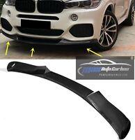 Carbon gfk Lippe Stoßstange Bumper Splitter Frontspoiler passend für BMW X5 F15