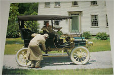 1905 Ford Touring car print (black, black top)