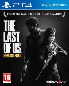 The Last of Us: Remastered (Playstation 4 PS4) Great Condition Free Postage