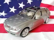 1:18 BMW 3er 330i Touring E91 Kombi Kyosho Arktissilbermetallic E90 320i 318i