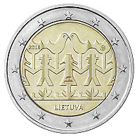 """Lithuania 2018 UNC 2 Euro Commemorative coin """"Song And Dance Celebration"""""""