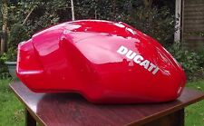 GENUINE DUCATI CARB PRE INJECTION MONSTER PETROL TANK SOLID USEABLE 600 750 900