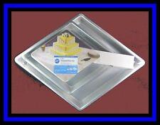 NEW ITEM! Wilton ***3 TIER DIAMOND*** Cake Pan Set NIP #4204