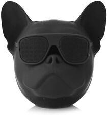 Bull Dog Wireless Bluetooth Speaker Great sound-Black Led Colour Glasses Novelty