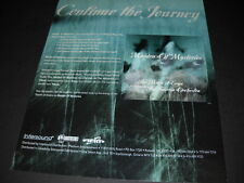 Enya continue the journey with Maiden Of Mysteries promo display ad Mint Cond
