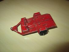Vintage TOOTSIE TOY  DUAL MOTORCYCLE TRAILER (Red)