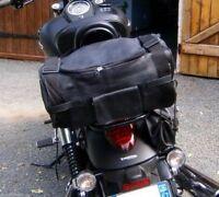Sac pour sissi bar Solide Cuir souple de vachette pour moto custom / harley NEUF