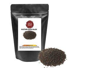 Black Mustard Seeds Whole | Whole Rai | Sarso | Free P&P U.K