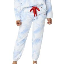 Peace Love World Womens Pants Blue Size 2X Plus French Terry Jogger $63 120