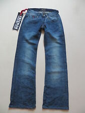 "FREEMAN T. PORTER ""CASSANDRA"" Jeans Hose, W 27 /L 34, NEU ! Wide Leg, UNIKAT !"