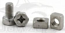 Yuasa 6x12mm Battery Bolts/Nuts Rectangular 479100