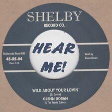 ROCKABILLY: GLENN DORAN-Wild About Your Lovin'/When I'm A Dollar Down SHELBY